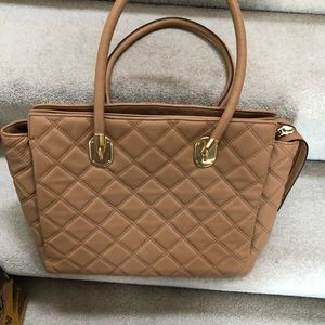 Beautiful butter soft tan leather Cole Haan bag
